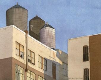 New York Water Towers-1