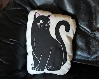 Solidarity Cushion Black Cat
