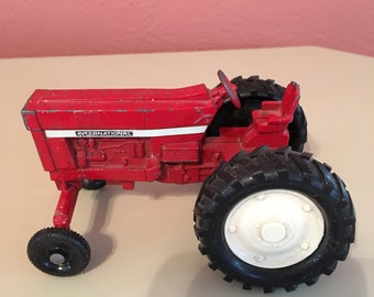 Vintage Red International Toy Tractor