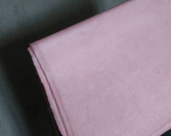 sheet of Nepalese paper 50 / 70cm pink very soft