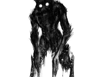 "Lycanthrope 1, print (8x10"")"
