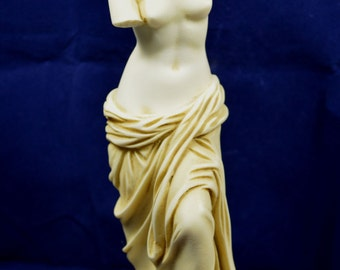 Aphrodite Venus statue Goddess of love aged patina sculpture