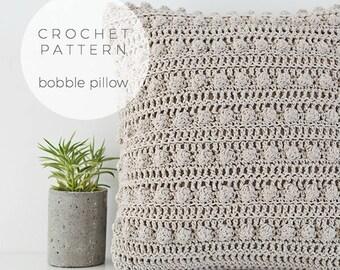 Crochet Pattern | Bobble Pillow,Imediate Downloadable Pattern