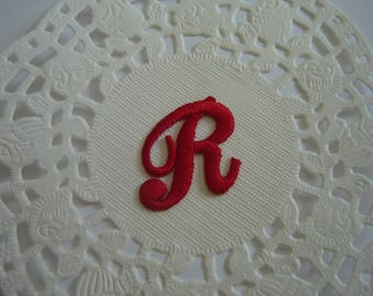 MONOGRAM TO PERSONALIZE RED ¤ LETTER R