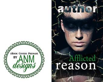 Premade eBook Cover Design 'Afflicted Reason' Sci-fi Book Cover