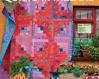 Signed / Autographed KAFFE FASSETT'S Quilts in Ireland Kaffe Fassett 160 Page Book Signed Copy