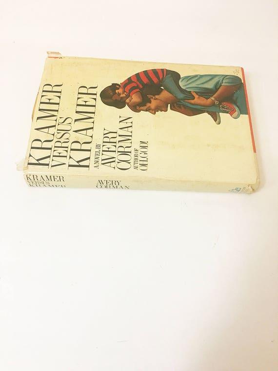 Kramer Versus Kramer First Edition Book By Avery Corman