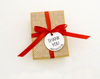 Custom Tags - Personalized Tags - Thank You Tags -  Website Tags - Branding Tags - Kraft Tags - Favor Tag - Choose Size - Party Favor