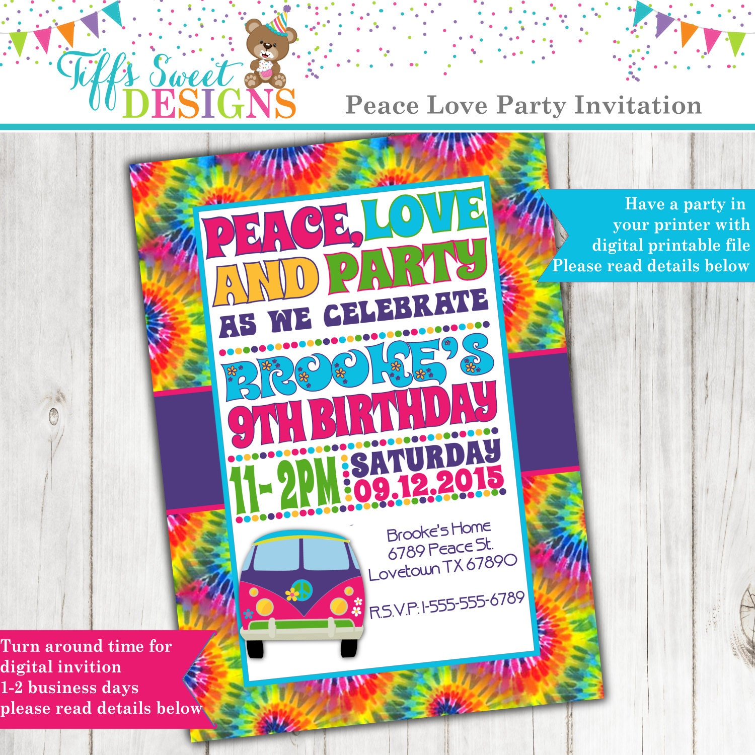 Fancy 60s Party Invitations Picture Collection - Invitation Card ...