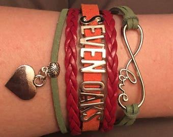 Seven oaks bracelet