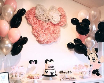Mickey or Minnie Balloon Kit | Mickey Mouse Party Decorations | Minnie Mouse Birthday Party