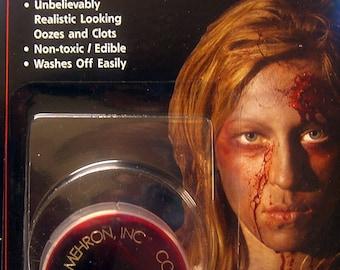 Mehron Coagulated Blood Gel .5 oz / Non-drip Gel Blood / Theatrical Blood Gel / High Quality Blood Gel / Coagulated Blood Gel