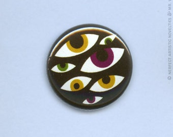 "Creeper Peepers 1"" Pin-Back Button"