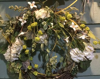 WILD THING wreath