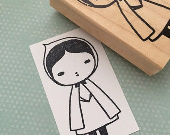 Little Red Riding Hood Rubber Stamp 6451