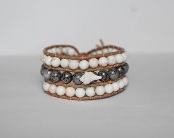 Women's Neutral Seashell Bracelet