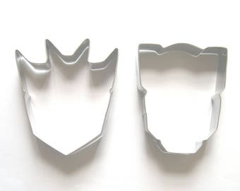 """3"""" Transformer Cookie Cutter Fondant Biscuit Stainless Steel Baking Cookie Cutter Set"""
