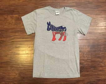 """90s """"young democrats"""" tshirt size s"""