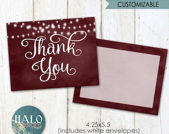 Small Thank You Cards