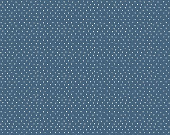 1 Yard Heart and Soul by Deena Rutter and Seek Good Works for Riley Blake Designs - 6704 Navy Heart Triangle