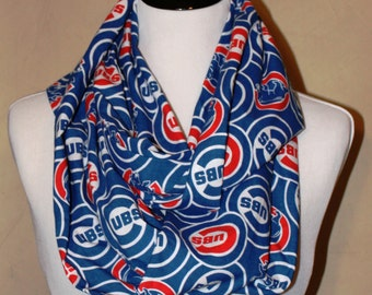 Cubs Infinity Scarf