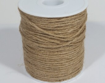 4 Ply Jute Cord  - Toffee - 100 Yards