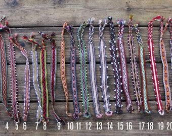 Unique Handwoven Peruvian Bracelet