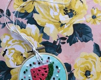 baby watermelon hoop