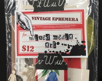 Vintage Ephemera Package