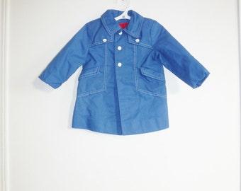 Vintage Blue Toddler's Jacket