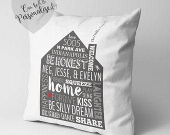 Personalised New Home Gift, New Homeowner Gifts, Housewarming Present, Housewarming Engagement Gift, New Home, Housewarming Present, Friends