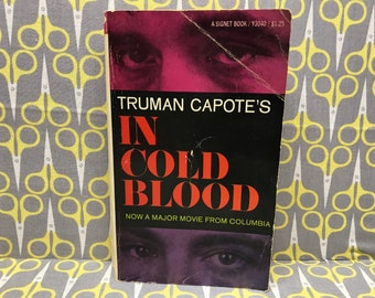 In Cold Blood by Truman Capote paperback book vintage