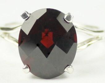 Mozambique Garnet, 925 Sterling Silver Ring, SR132