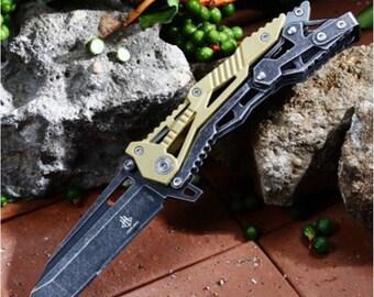 Knife transform JUNLANG Camouflage length 8 + 11.5 cm