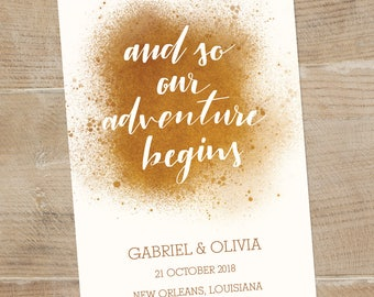 customized save the date, save the date digital download, hand lettered save the date, white and gold wedding, personalized save the date