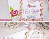 Tea Party Bridal Shower I...