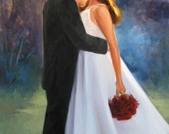 wedding gifts for couple Personalized wedding gift for couple Oil painting Wedding gifts personalized Unique wedding gift Wedding gift ideas