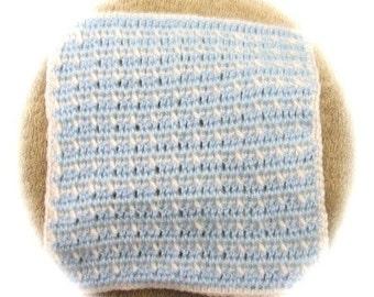 Crochet Pattern For Sleepy Time Blanket for 5 inch Baby Doll