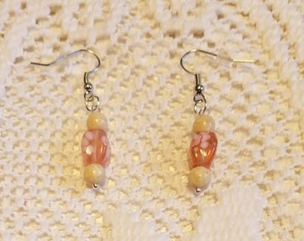 Pretty and Pink Drop Earrings