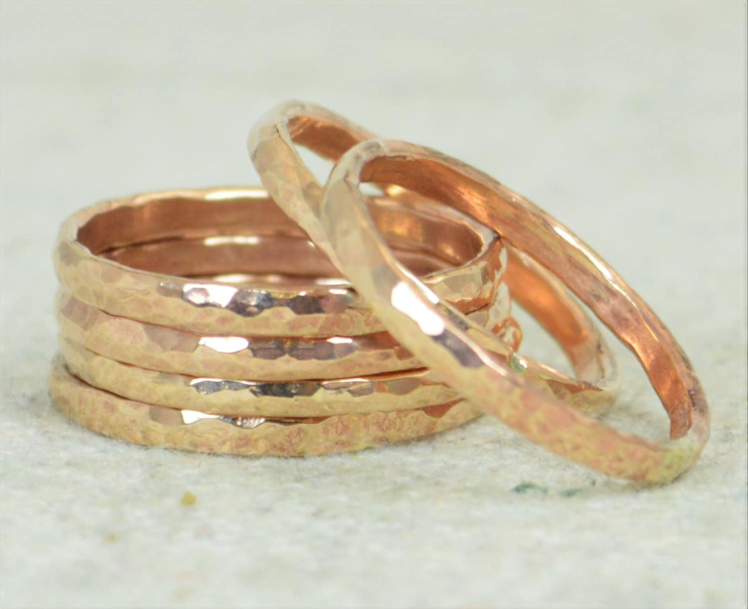 listing thick s arthritis super fullxfull band jewelry il rings bronze hammered ring stackable