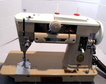 Restored Singer 401A Vintage Sewing Machine, by Stagecoach Road, with Free Shipping