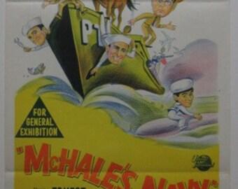 McHales Navy - 1964 Original Australian Daybill
