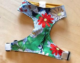 Sixties Floral Vest Harness