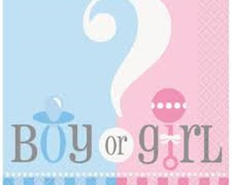 gender reveal backdrop