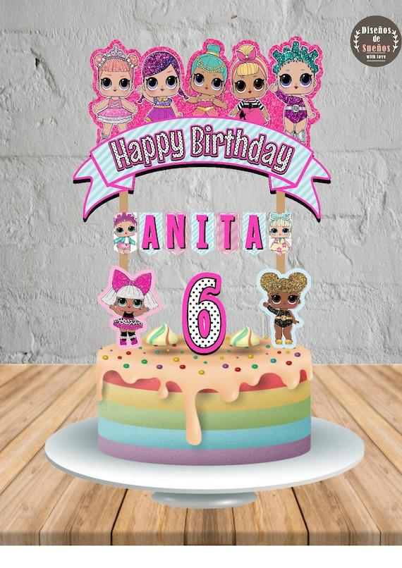 Lol Surprise Cake Topper Lol Surprise Birthday Lol