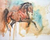 Equine Nude 9t - Original...