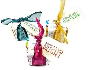 Soap Gift/Soap/Soap Sampler Gift/Mini-Soap Gifts/Christmas Gift/Christmas Soap Gift/Handmade Soap/Gift for her/Coworker gifts/Teacher gift