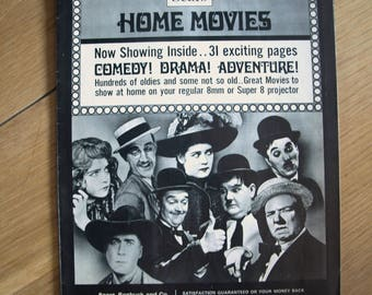 Sears, Roebuck and Co. Home Movies Catalog / Magazine – 1969 – Superb Condition and Extremely Rare
