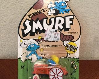 """Smurf ERTL """"Ol' McSMURF"""""""