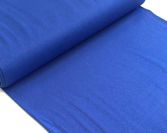 straight rib tubular fabrics blue